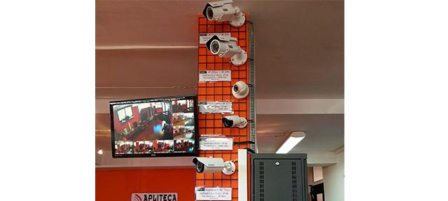 Videovigilancia en Apliteca, Zaragoza